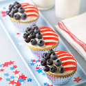 Wave the Flag Cupcakes