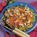 Crab Salad with Ginger Dressing