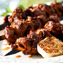 Cumin and Garlic Scented Lamb Skewers