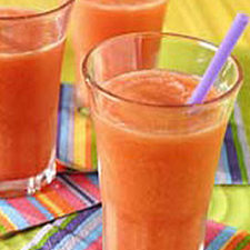 Peach Summer Slushies Recipe Picture